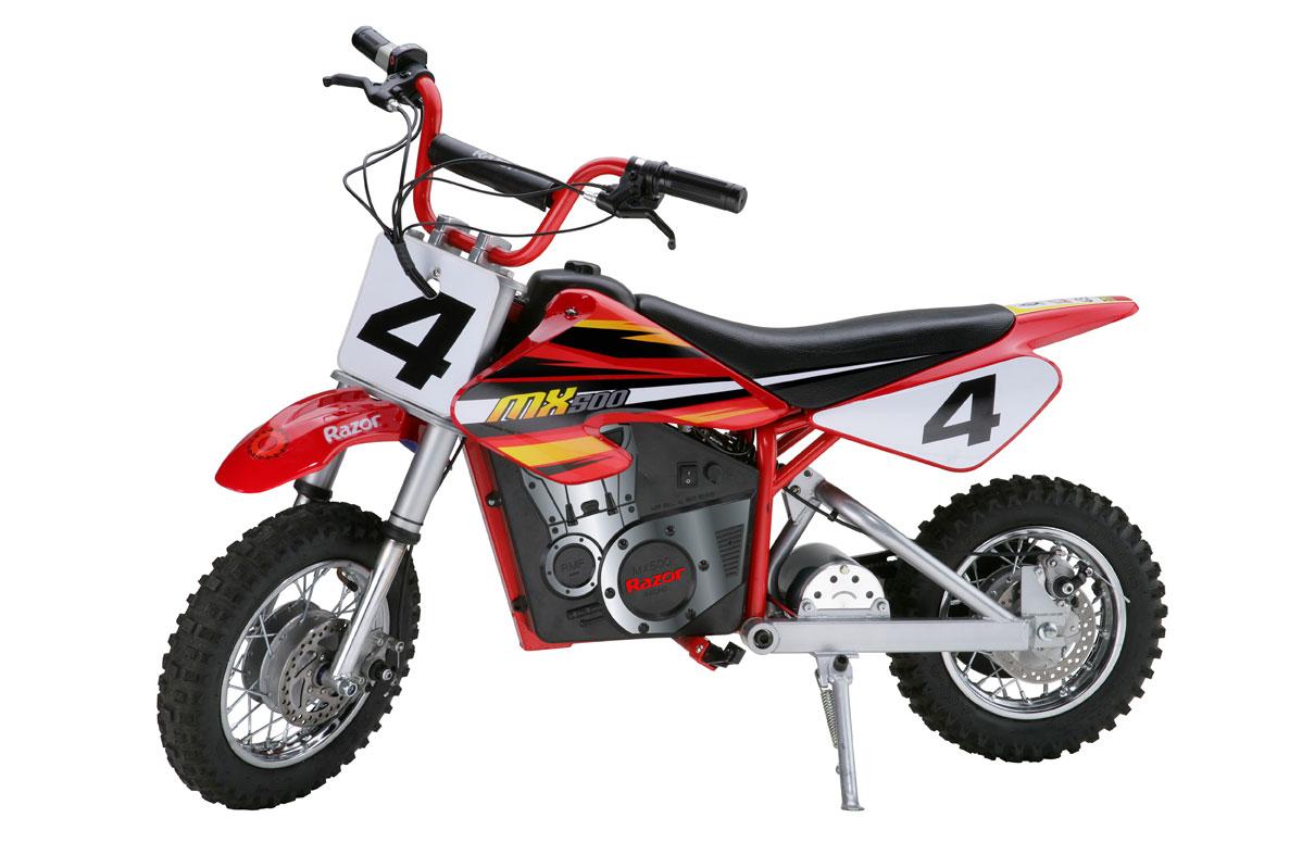 Razor Dirt Rocket MX500<br> A High Performance Electric Motocross Bike