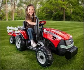 Peg Perego Case Magnum Ride On Tractor