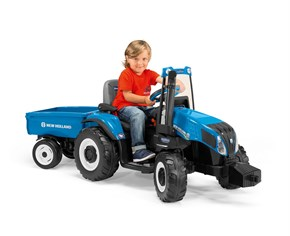 Peg Perego New Holland Tractor