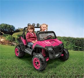 Peg Perego Polaris RZR 900 Ride On - Pink