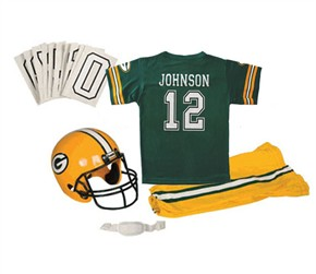 Personalized Kids Green Bay Packers Deluxe Uniform