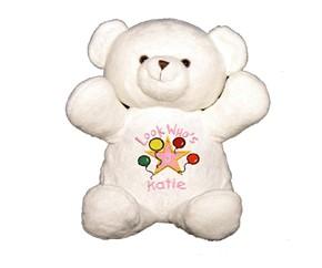 Personalized Birthday Bear - Pink
