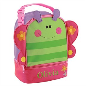 Personalized Butterfly Lunch Box
