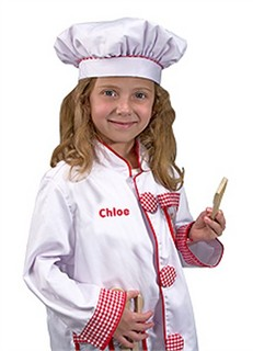 Personalized Chef Costume Set