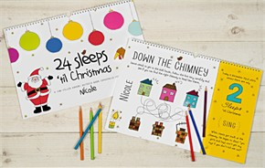 Personalized Christmas Activity Book