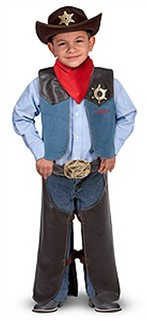 Personalized Cowboy Costume Set