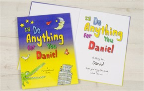 Personalized Kids Book - I'd Do Anything For You