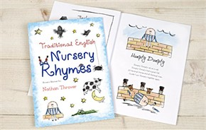 Personalized Kids Book - Nursery Rhymes