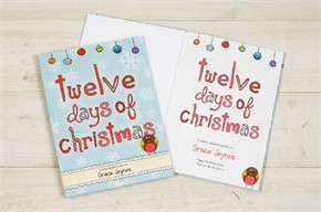 Personalized Kids Book, Personalized Christmas Gift
