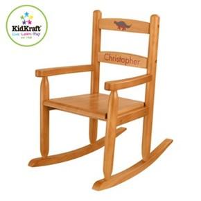 Kidkraft Personalized Kids Rocking Chair   Honey