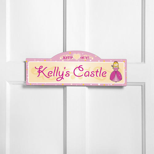 Personalized Kids Room Sign - Her Royal Highness