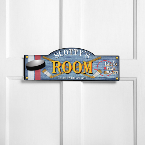 Personalized Kids Room Sign - Power Play