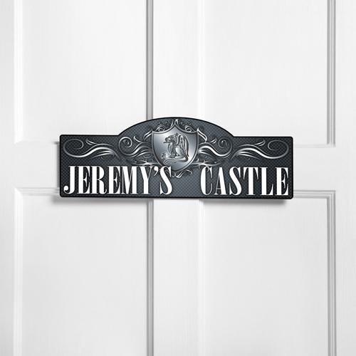 Personalized Kids Room Sign - Windsor Castle