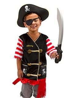 Personalized Pirate Costume Set