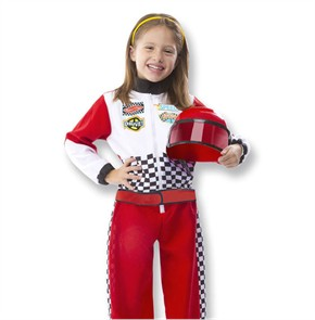 Personalized Race Car Driver Costume Set