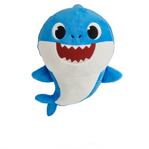 Pinkfong Daddy Shark Plush Doll with Sound