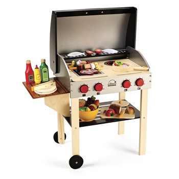 Pretend Kids Barbecue Cookout Set