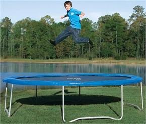 Pure Fun Trampoline - 14 ft