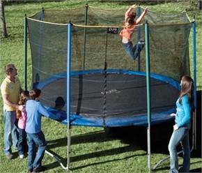 Pure Fun Trampoline and Enclosure Set - 12 ft