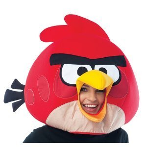 Red Angry Bird Mask