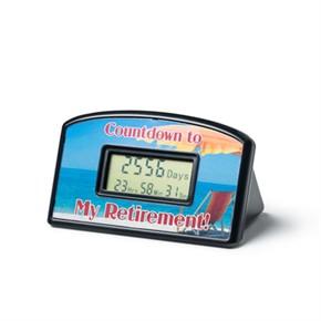 Retirement Countdown Clock - Beach