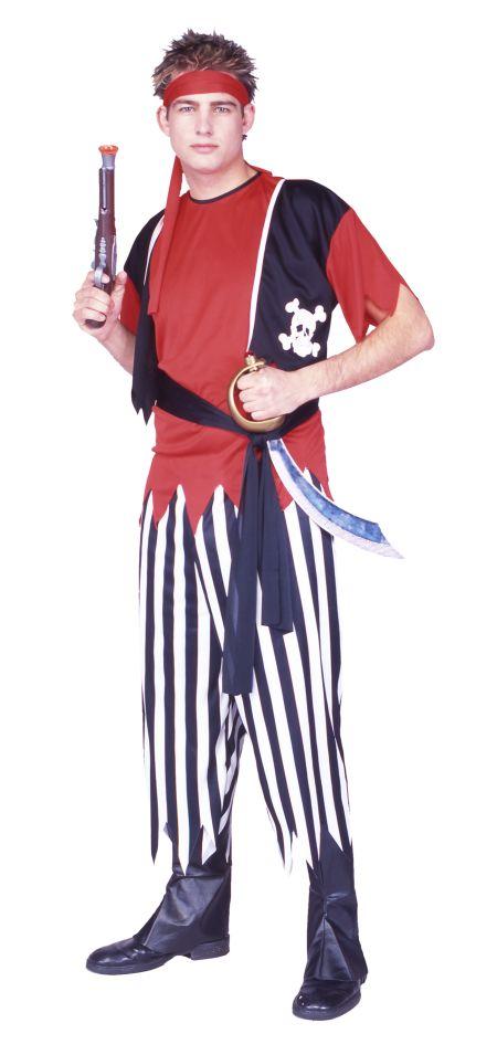 Adult Pirate Halloween Costume - Men's