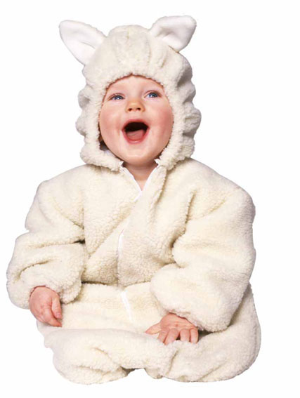 Baby Lamb Plush Costume