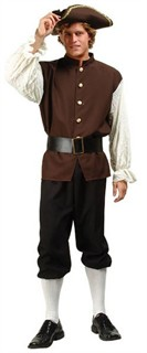 Adult Colonial Man Costume