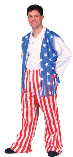 Patriotic Man Costume