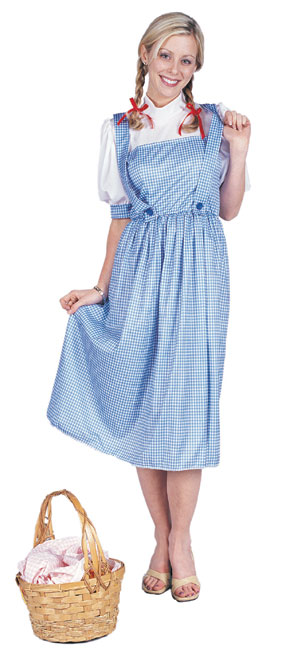 Adult Midwest Girl Costume Dorothy Costume