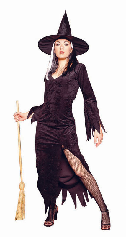 Adult  Witch Costume - Woman's Deluxe