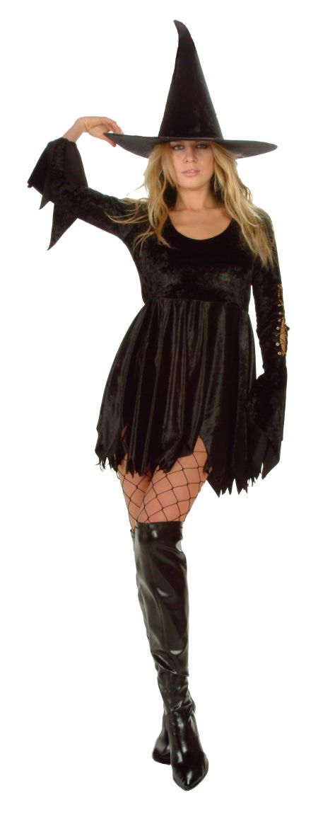 Adult Witch Costume - Wicked Witch