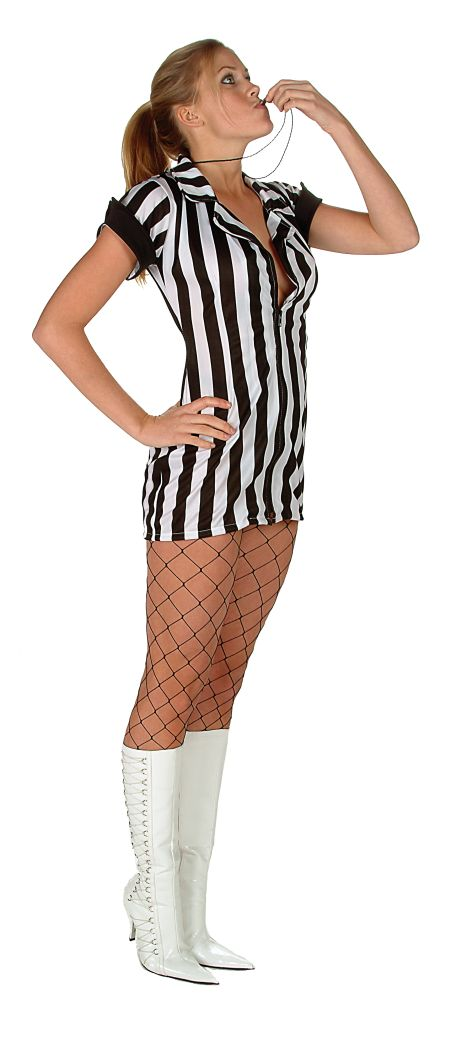 sc 1 st  Fantasy Toyland & Adult Sexy Referee Costume