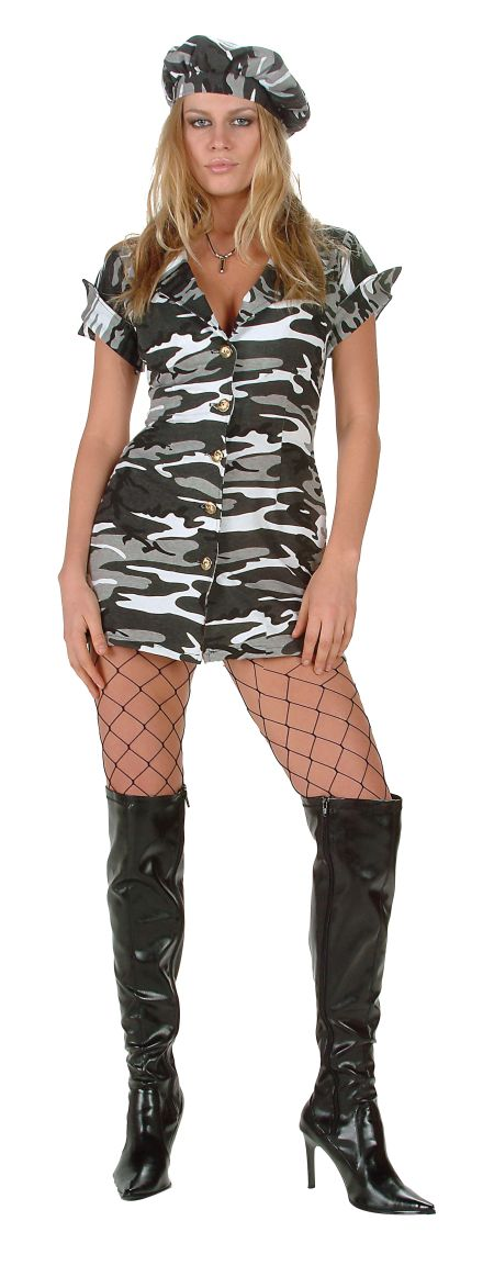 Adult Sexy Soldier Costume