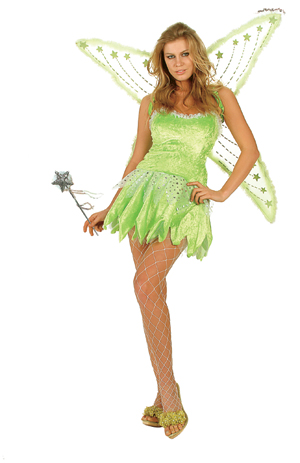 Adult Sexy Green Fairy Costume