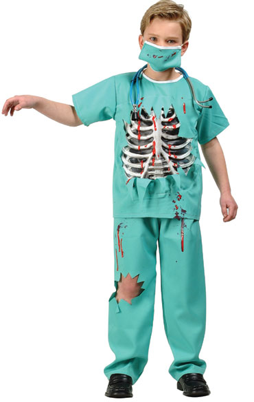 Child Scary ER Doctor Costume