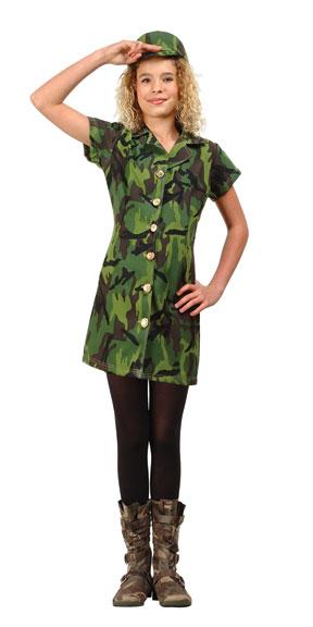 preteen jungle soldier girl costume - Soldier Girl Halloween Costume