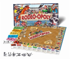Rodeoopoly Board Game