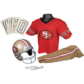 San Francisco 49ers Youth Uniform Set