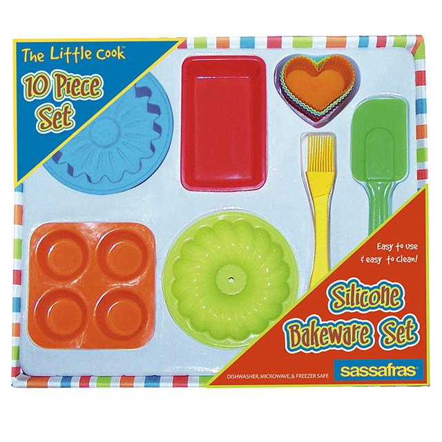 The Little Cook-Silicone Child Bakeware Kit