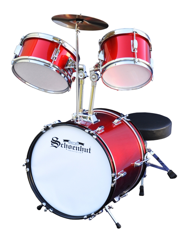 Schoenhut Child Drum Set Toy Drums