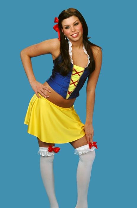Adult Snow White Costume (halter top)