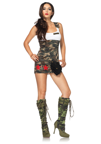 Sexy soldier costumes