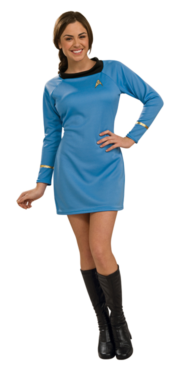 Sexy Classic Star Trek Dress - Blue  sc 1 st  Fantasy Toyland & Adult Sexy Star Trek Costume - Blue