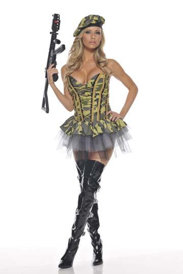 Sexy Commando Costume