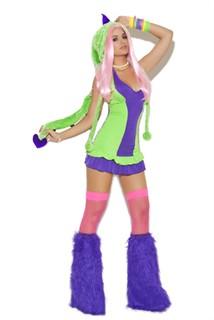 Sexy Dinosaur Costume - Dino Doll