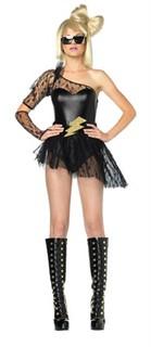 Sexy Lightening Rocker Costume