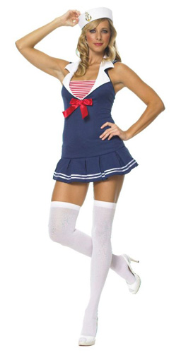 Sexy Sailor Cadet Costume