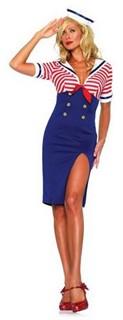 Sexy Sailor Costume - Deckhand Diva
