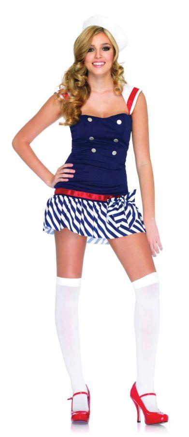 Sexy Sailor Costume - Harbor Hottie